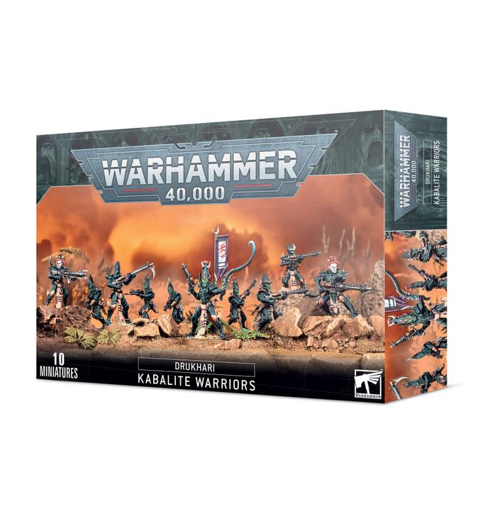 Warhammer 40K: Drukhari - Kabalite Warriors