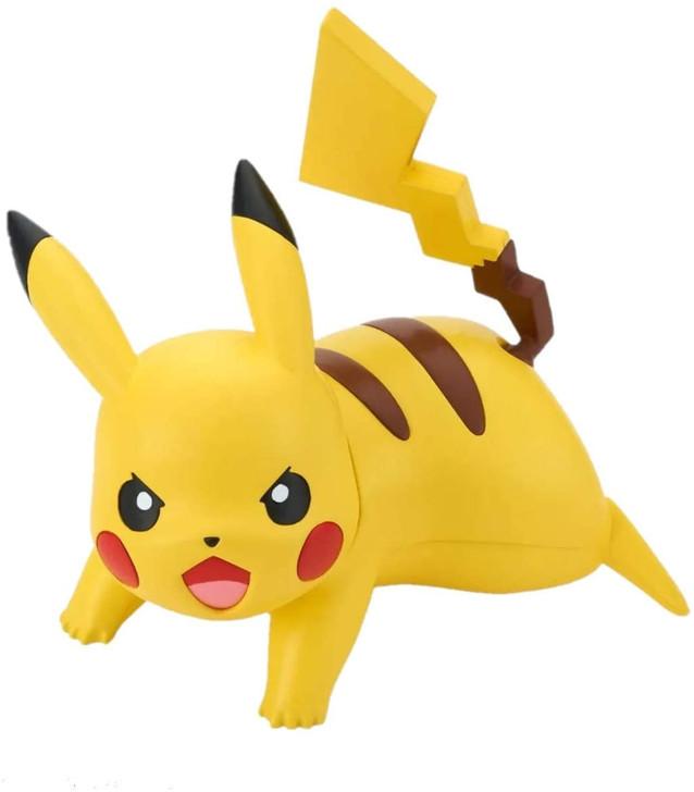 Pokemon: Pikachu 03  (Battle Pose) - Bandai Spirits Quick Model Kit