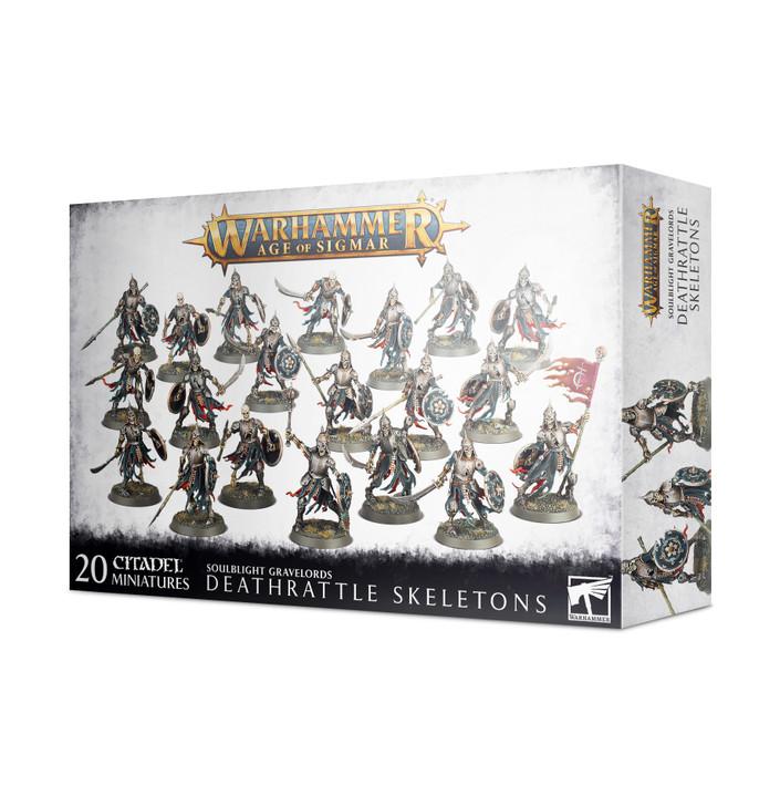 Warhammer Age of Sigmar: Soulblight Gravelords - Deathrattle Skeletons