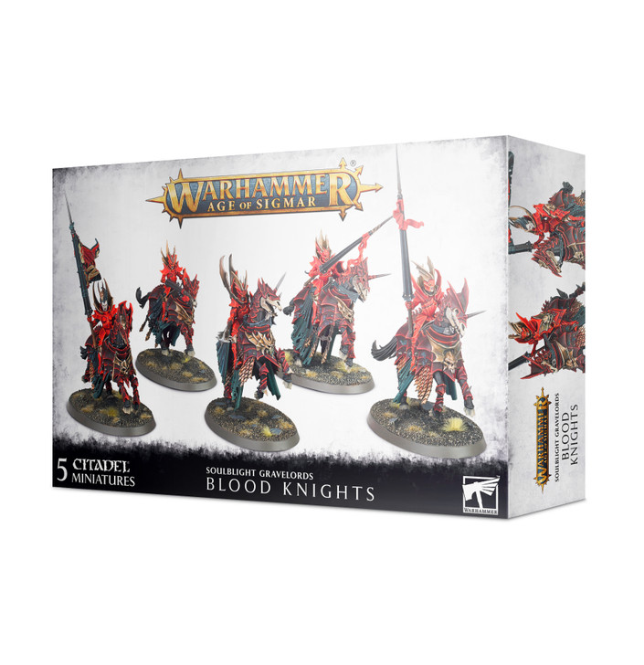 Warhammer Age of Sigmar: Soulblight Gravelords - Blood Knights