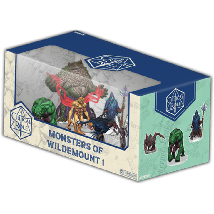 Critical Role Painted Figures: Monsters of Wildemount - Set 1