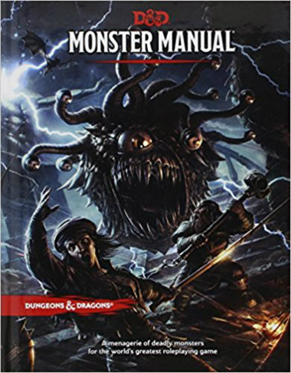 Dungeons & Dragons 5th Edition RPG: Monster Manual (Hardcover)
