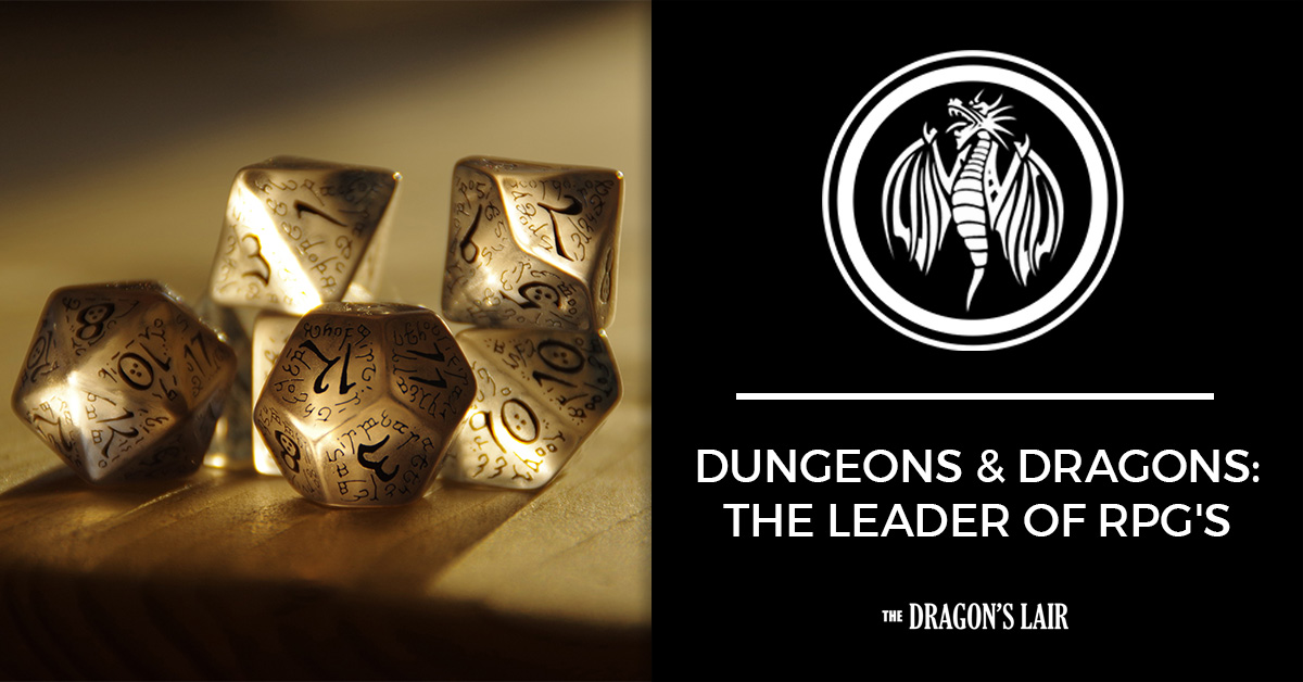 Dungeons & Dragons: The Leader of RPG's