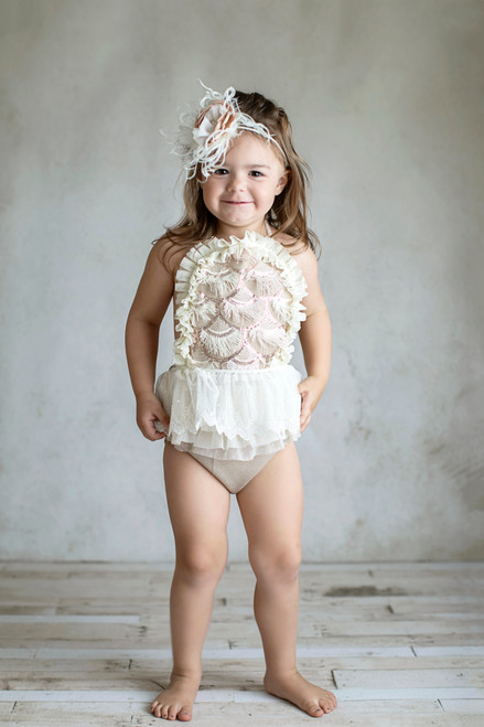 9a0b2de7e409 Tilly newborn sitter session photo prop one year photos baby romper