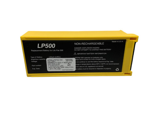 LifePak 500 AED Battery