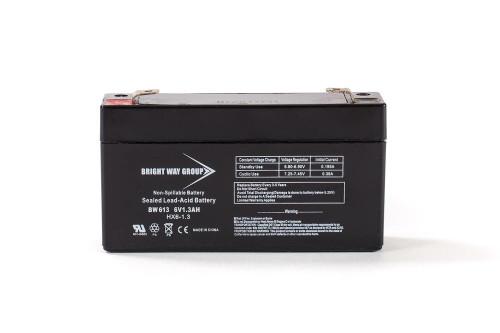 Bright Way BW613 Battery - 6V 1.3AH