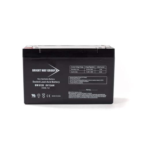 Bright Way BW6120 Battery - 6V 12AH