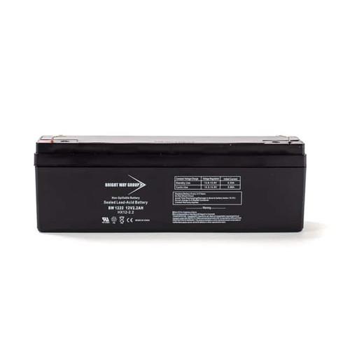 Bright Way BW1222 Battery - 12V 2.2AH