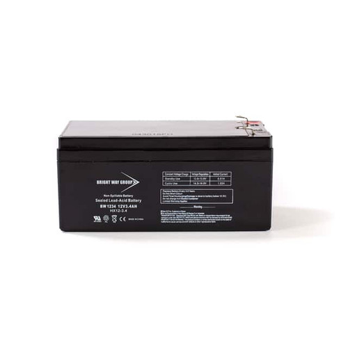 Bright Way BW1234 Battery - 12V 3.4AH