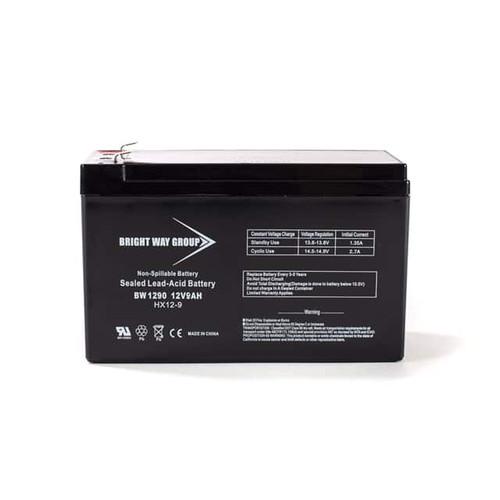Bright Way BW1290 Battery - 12V 9AH
