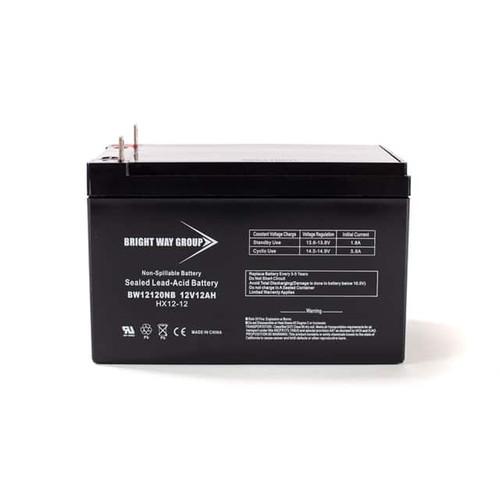 Bright Way BW12120NB Battery - 12V 12AH Nut & Bolt