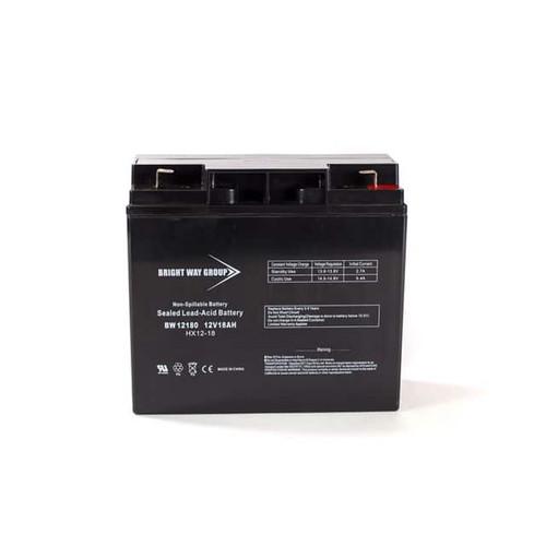 Bright Way BW12180NB Battery - 12V 18AH Nut & Bolt