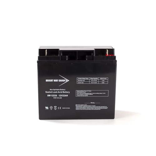 Bright Way BW12220NB Battery - 12V 22AH Nut & Bolt