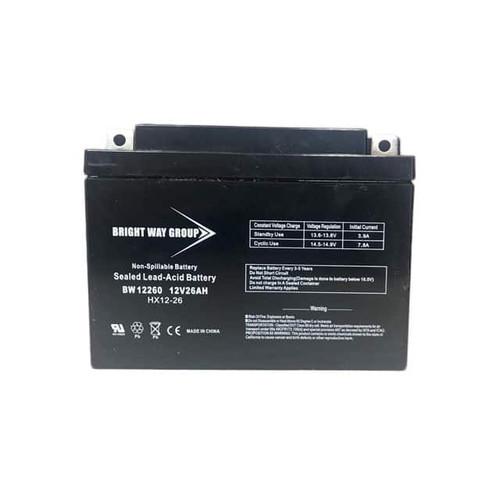 Bright Way BW12260NB Battery - 12V 26AH