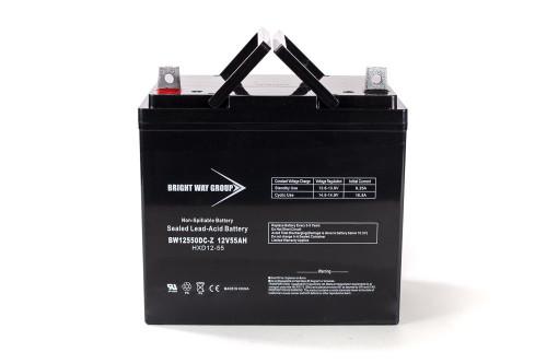Bright Way BW12550Z Battery - 12V 55AH 22NF