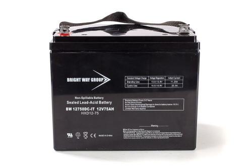 Bright Way BW12750Z Battery - 12V 75AH Group 24