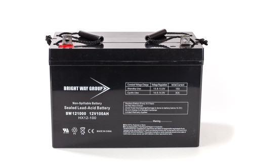 Bright Way BW121000Z Battery - 12V 100AH Group 31