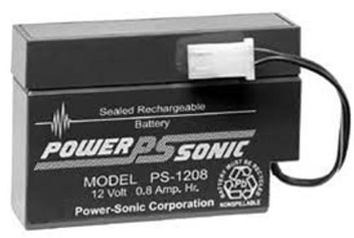 Power Sonic PS-1208WL Battery - 12V 0.8AH