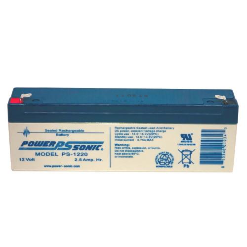 Power Sonic PS-1220 Battery - 12V 2.5AH