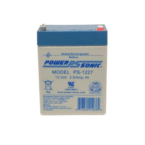 Power Sonic PS-1227 Battery - 12V 2.9AH