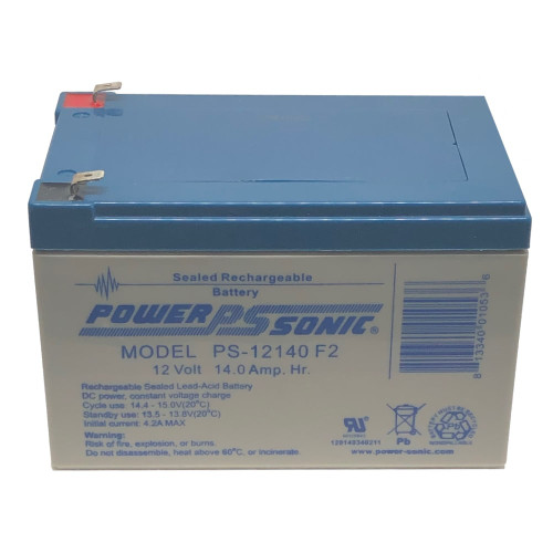 Power Sonic PS-12140F2 Battery - 12V 14AH