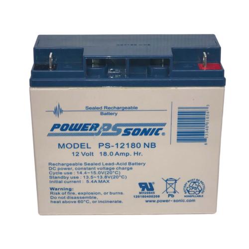 Power Sonic PS-12180NB Battery - 12V 18AH