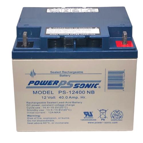 Power Sonic PS-12400NB Battery - 12V 40AH