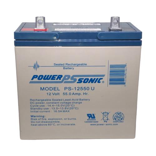 Power Sonic PS-12550U Battery - 12V 55AH