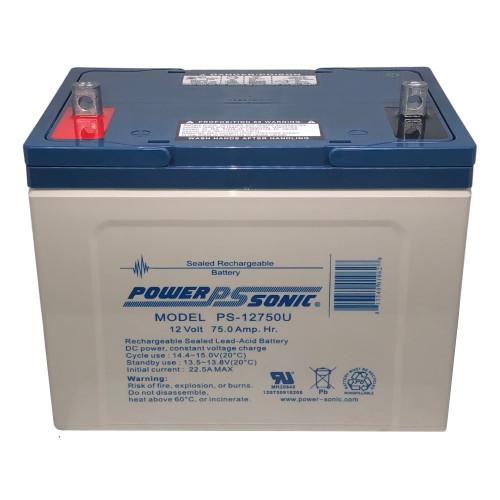 Power Sonic PS-12750U Battery - 12V 75AH