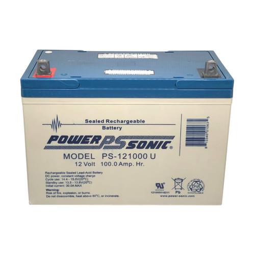 Power Sonic PS-121000U Battery - 12V 100AH