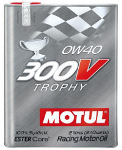 Motul 300V 0W40 Trophy, 2 lit.