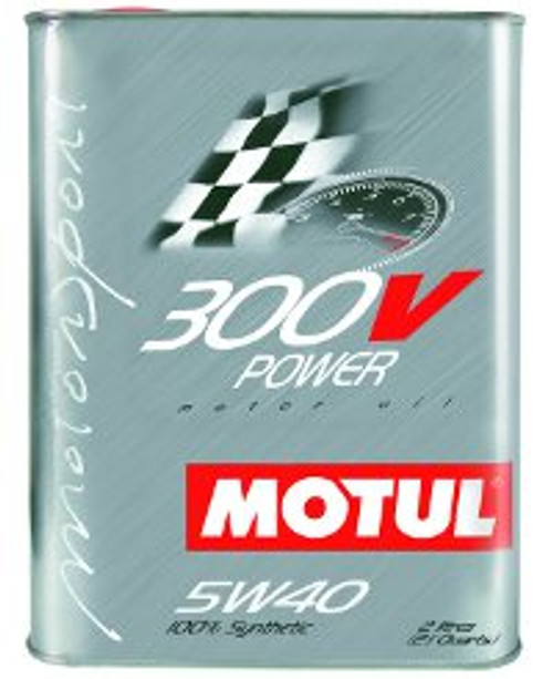 Motul 300V 5W40 Power, 2 lit.