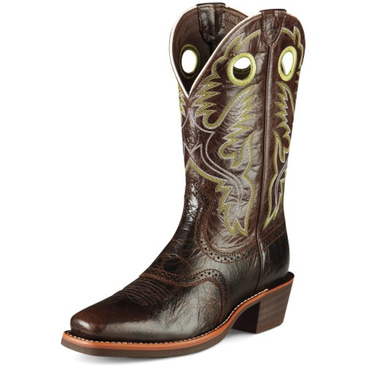 50a74aba3a2 Ariat Men's Boots - Heritage Roughstock - Thunder Brown
