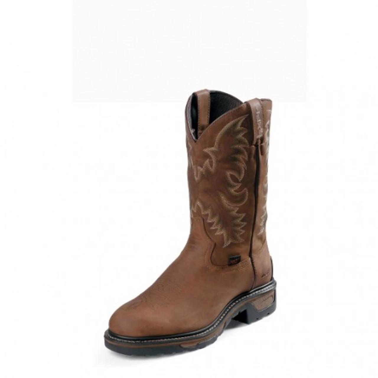 00e0f5abedd Tony Lama Men's TLX Western Work Boots - Panhandle - Tan Cheyenne  Waterproof w/ Steel Toe