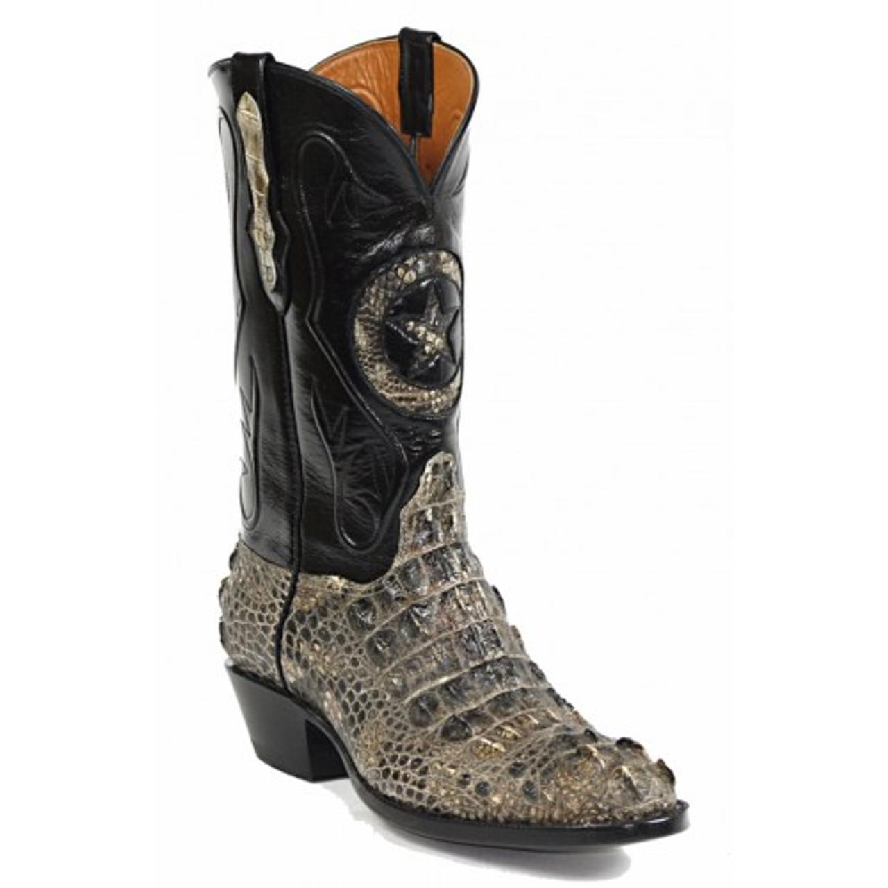 5e560aae520 Black Jack Boots - American Alligator Hornback #180-1