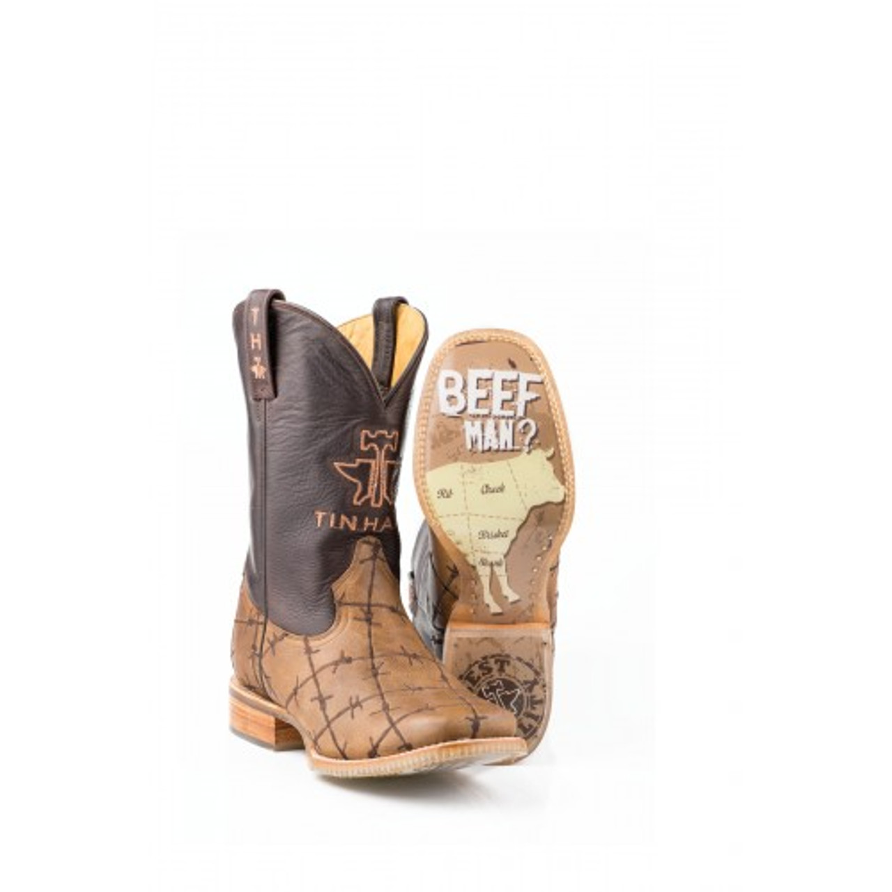 98951342fcf Tin Haul Men's Boots - Don't Fence Me In