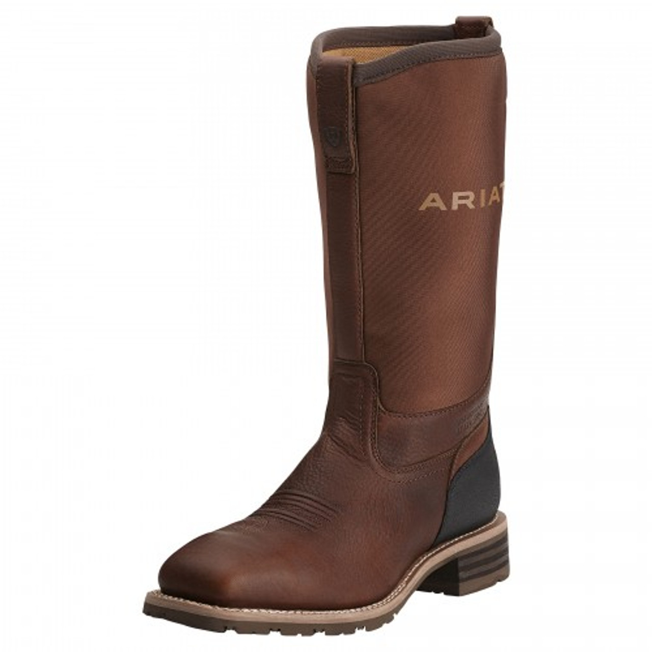 6ba7ead7bc5 Ariat Men's Hybrid All Weather - Oiled Brown w/ Steel Toe