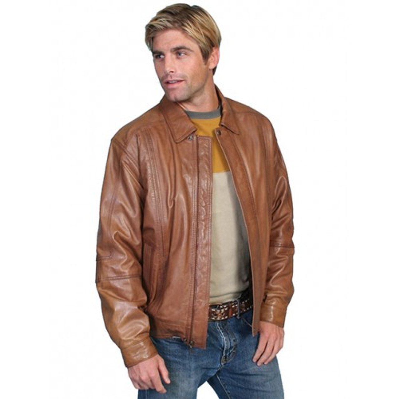 7a54768a3 Scully Men's Western Apparel - Premium Lambskin Jacket