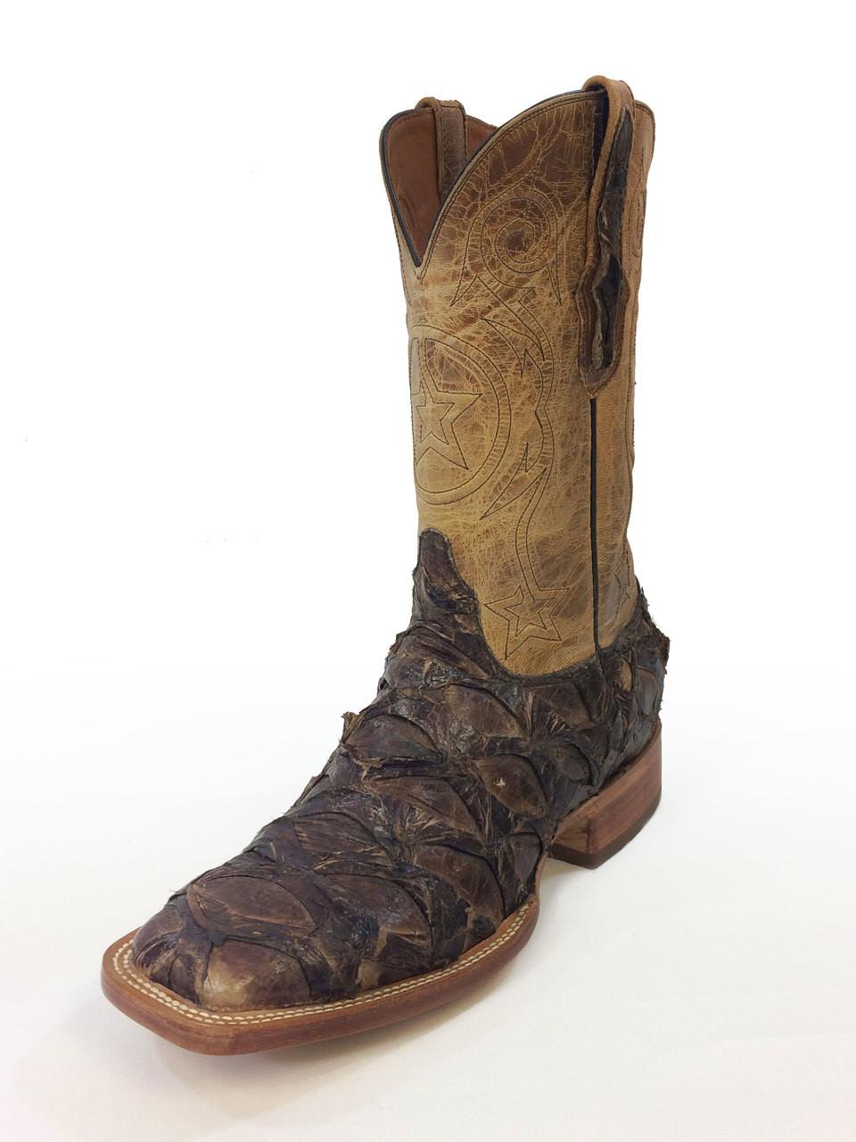Black Jack Boots - Pirarucu #682-96