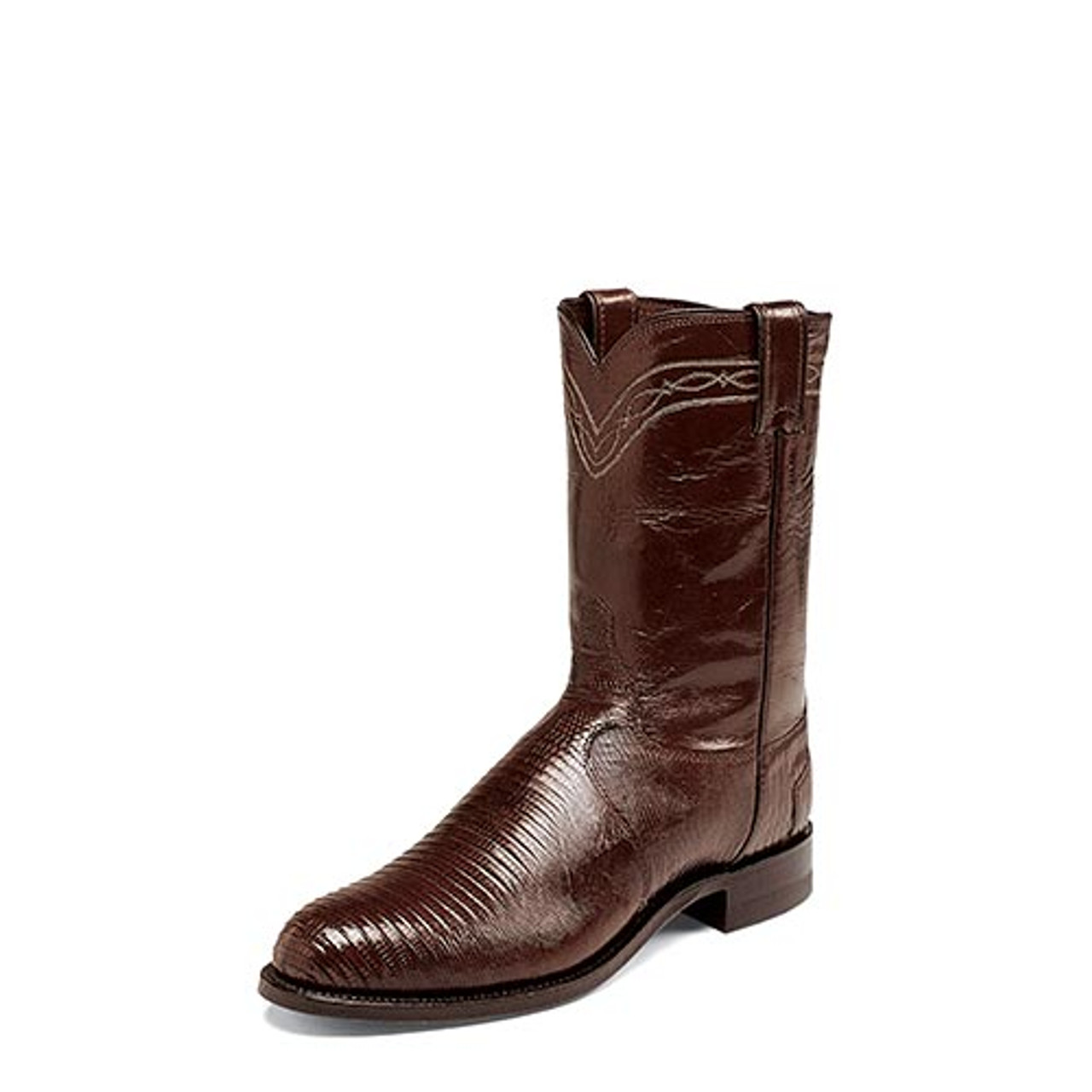 e0f4b88471b4 Justin Men's Western Exotic- Jabin Chocolate Lizard Vamp - Billy's ...