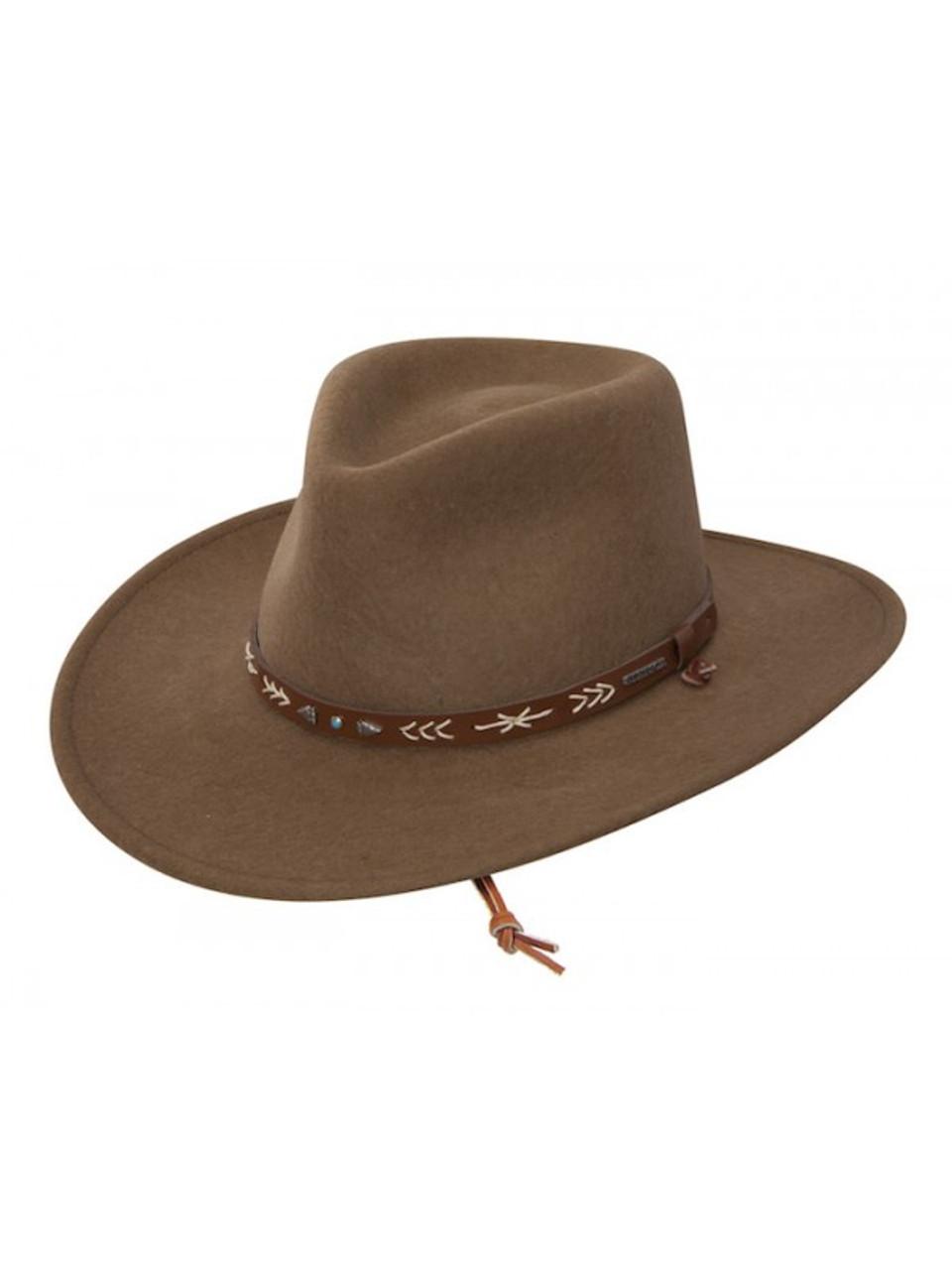 95eea946d4653 Stetson Crushable Wool - Santa Fe - Driftwood - Billy s Western Wear
