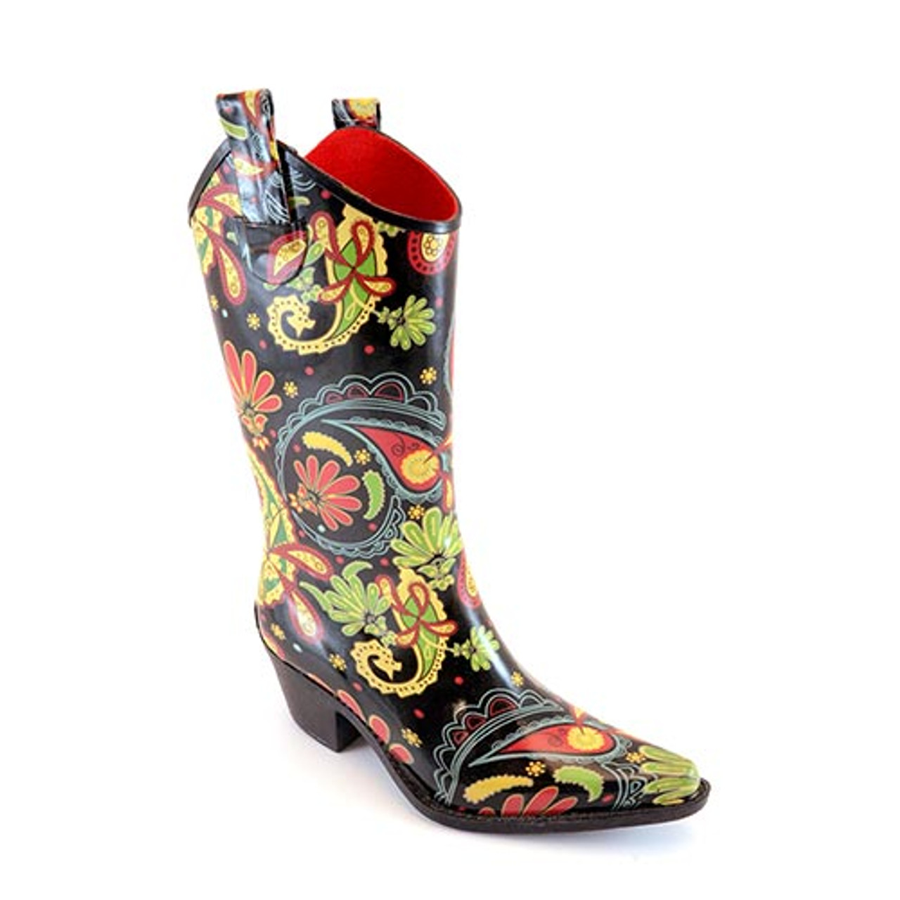 7ad0d9e68cd Corky's Women's Footwear - Rodeo - Paisley - Rain Boot