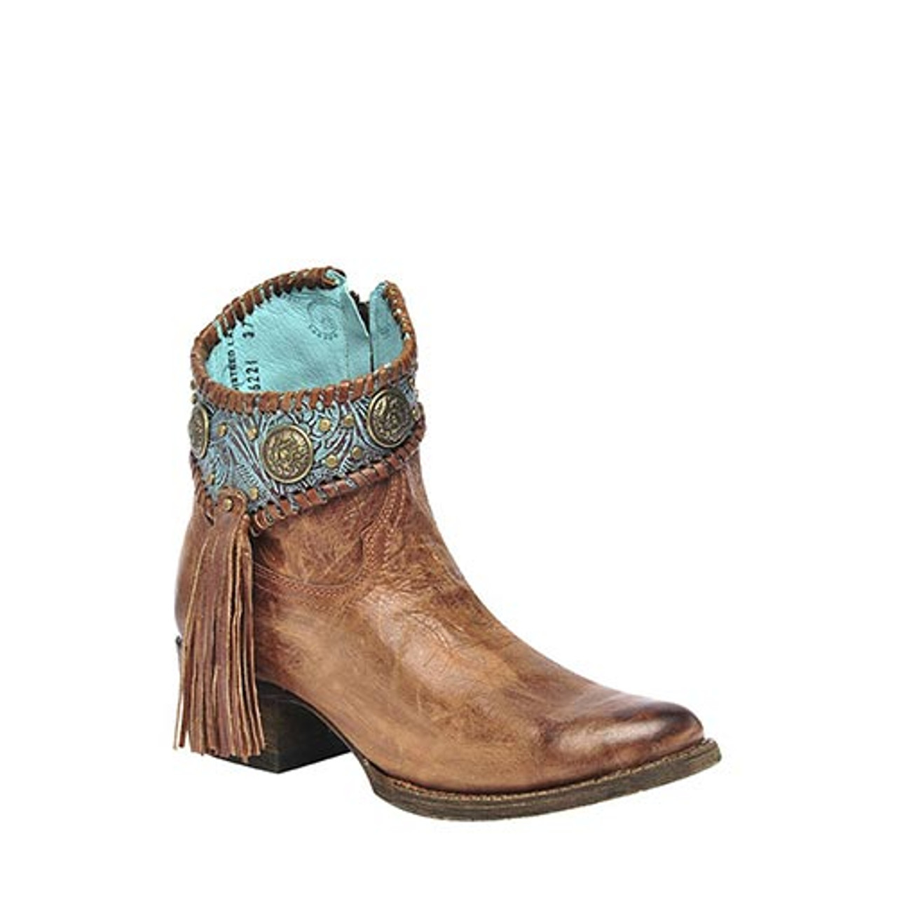 corral women's boots turquoise