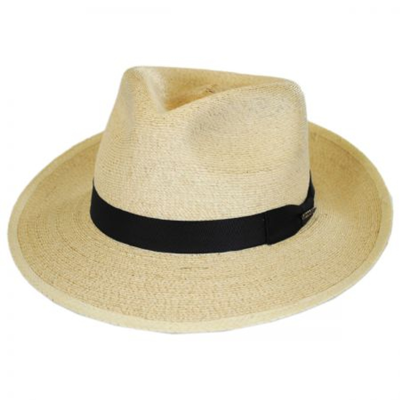 5f79f9fa784 Stetson - Rushmore Palm Leaf Straw Fedora Hat - Billy's Western Wear