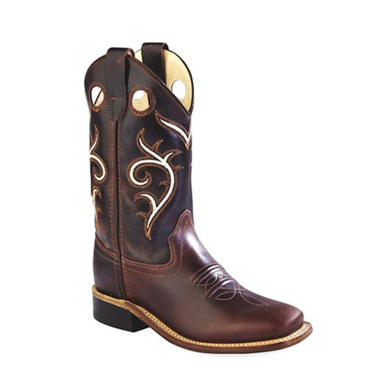 Children Western Cowboy Boot Boys Brown