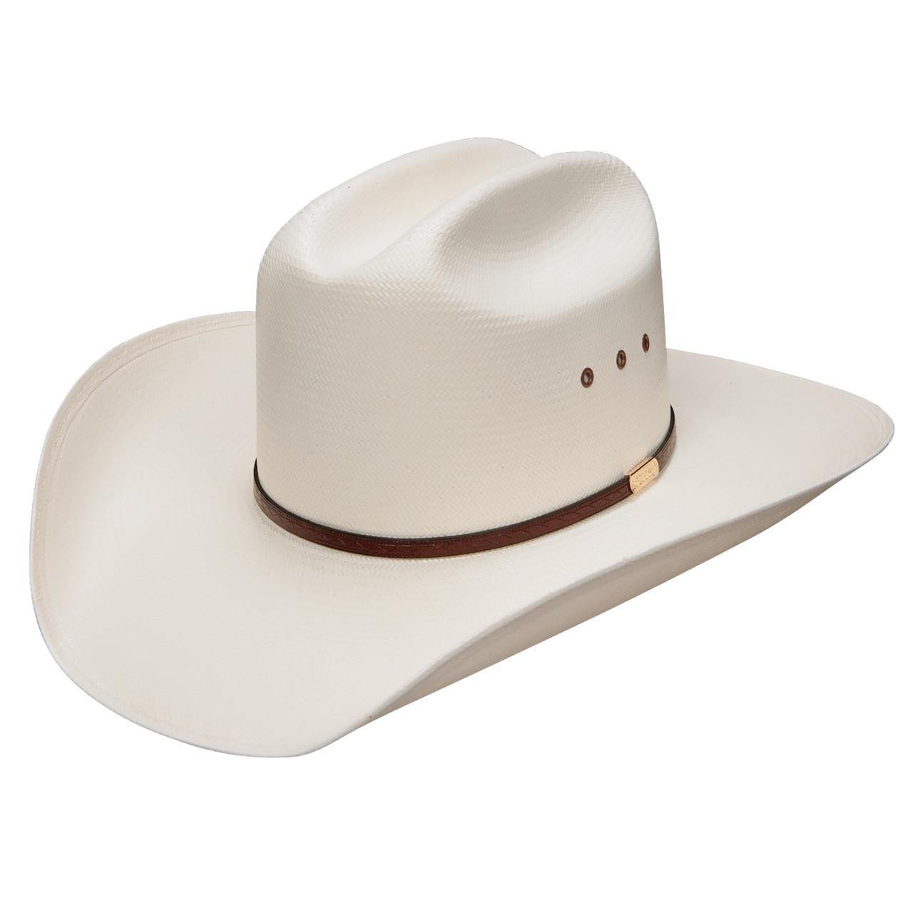 c3e691e6203b2 Stetson Mens Hats - Maddock - 10X Natural Comfort Straw Cowboy Hat ...