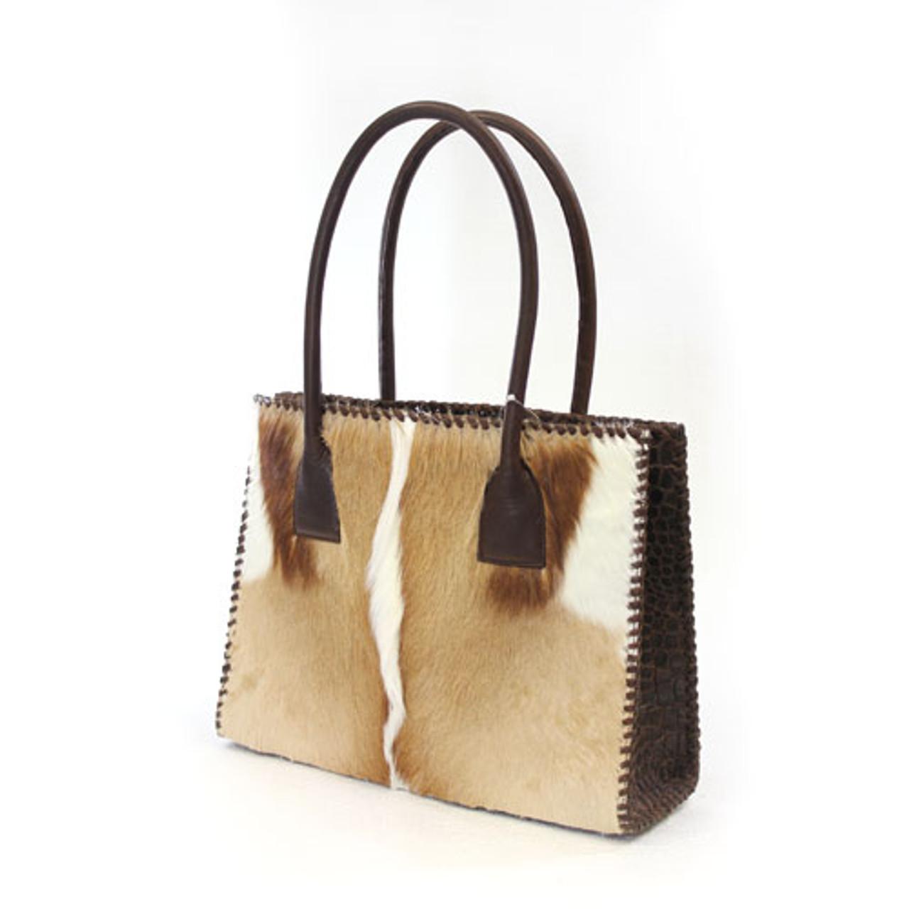 66c8f6fb5fa5 Women. Juan Antonio Women s Custom Handbags - 2003H - Antelope   Croco Brown  ...