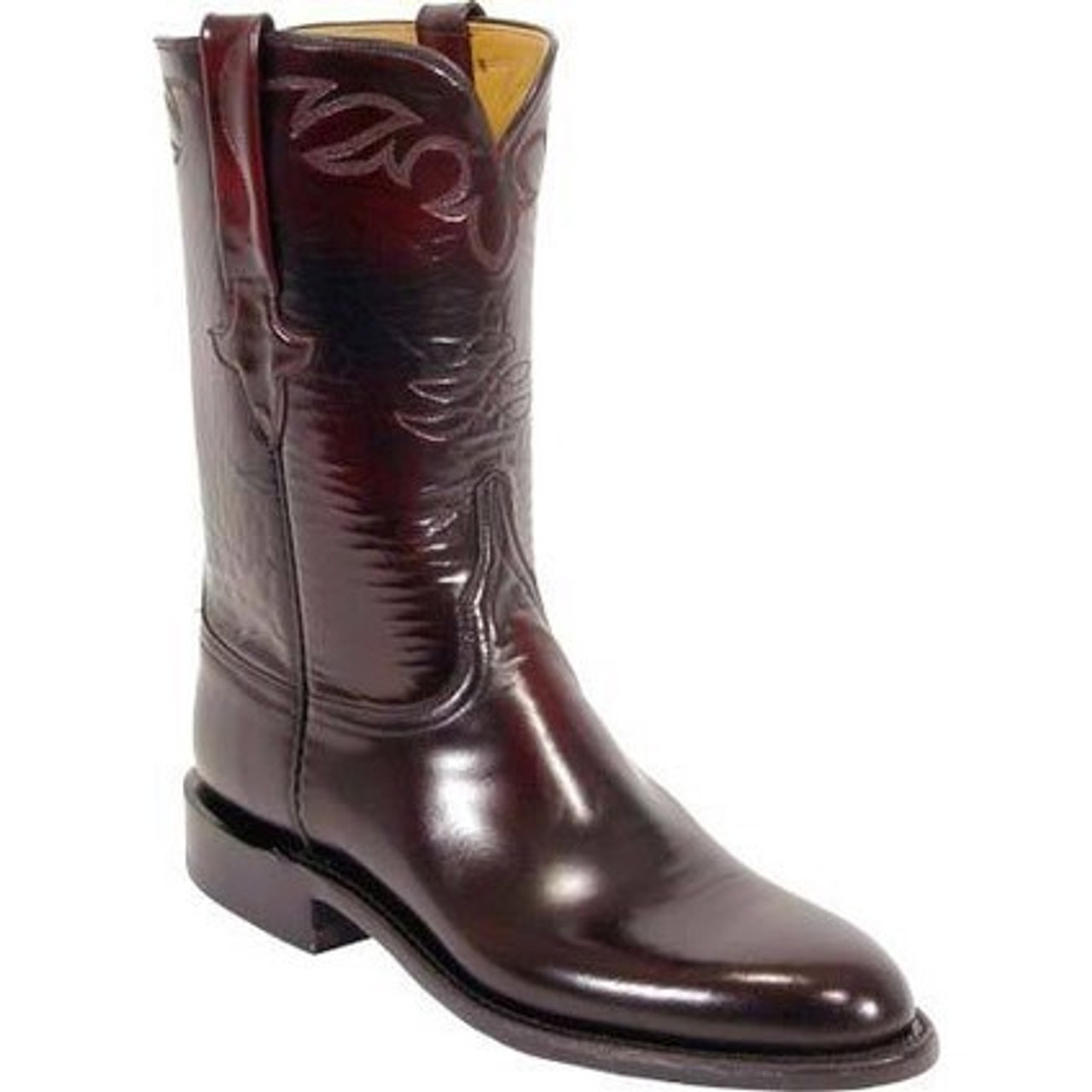 e08023c4413 Lucchese Men's Boots - Classics Hand Made - Black Cherry Brush Off - Goat