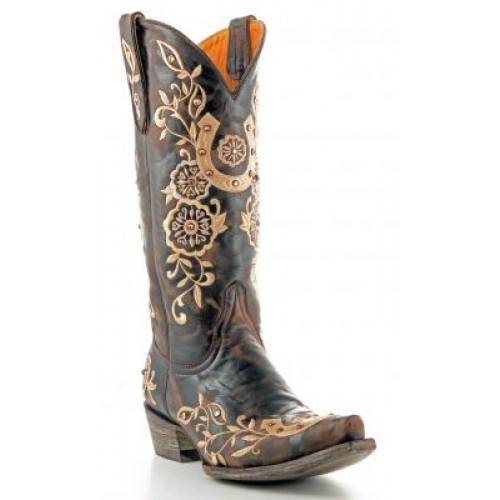 780320e200b Old Gringo Women's Boots - Lucky - Chocolate