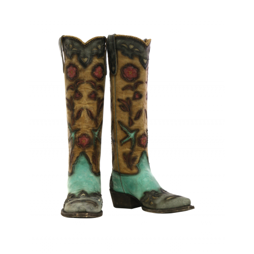 9b3b3cb2334 Black Jack Boots - American Alligator Hornback #180 - Billy's ...